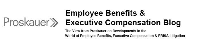 Employee Benefits & Executive Compensation Blog